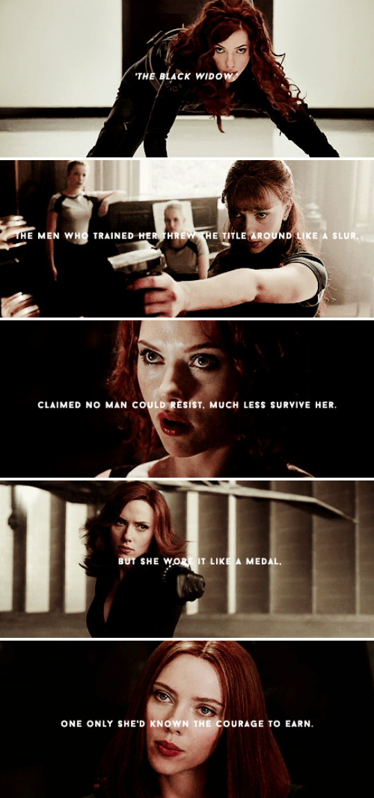 The Black Widow The Men Who Trained Her Threw The Title Around Like A Slur Claimed No Man Could Resist Muc Black Widow Marvel Black Widow Aesthetic Marvel