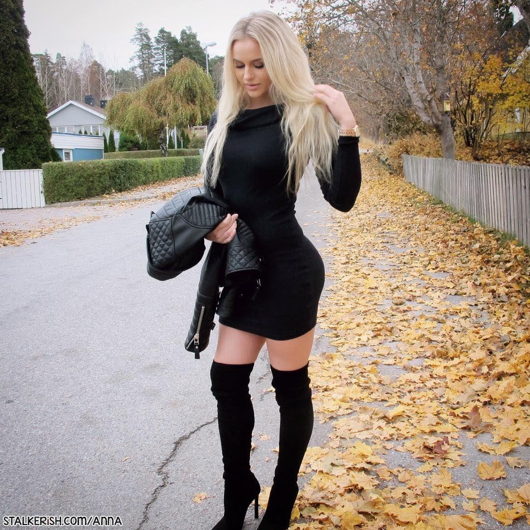 Anna Nystrom: Swedish Blonde Fitness Model - Stalkerish