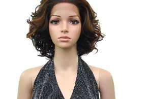 Model Model Synthetic Baby Hair Lace Front Wig Mimi - Hairsisters.com