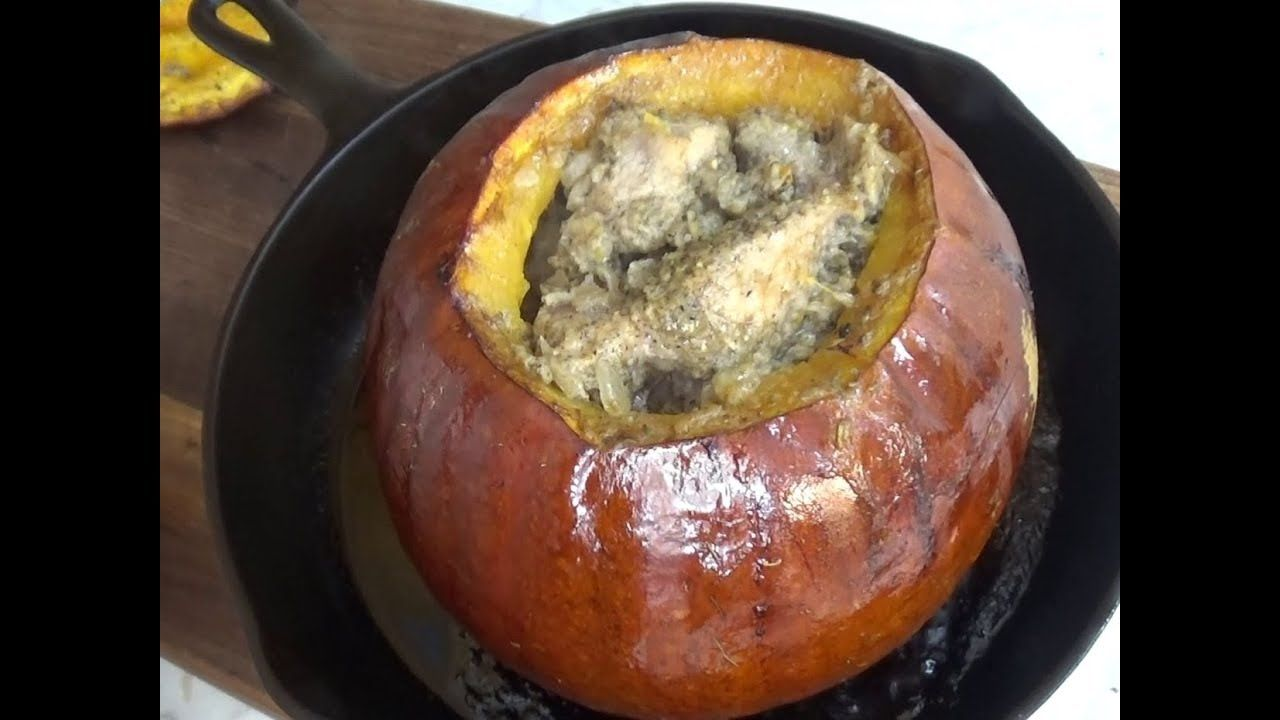 Chef John S Pig In A Pumpkin In A Cast Iron Pan Chef John Food Wishes Food Wishes Pumpkin Recipes