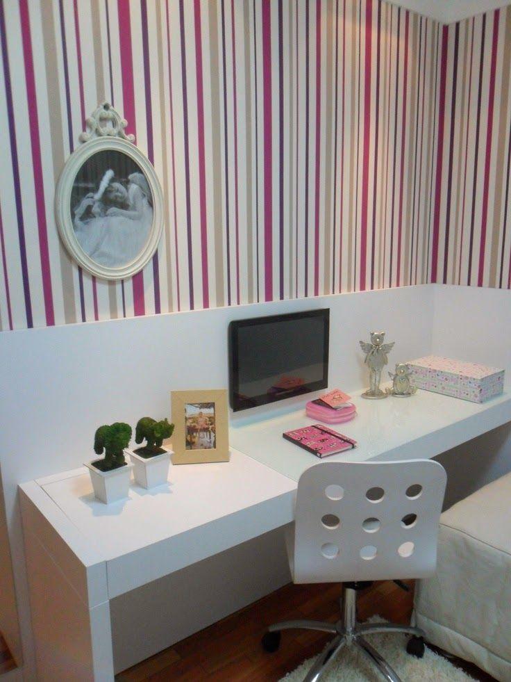 Decoração 10 quartos planejados para meninas, as