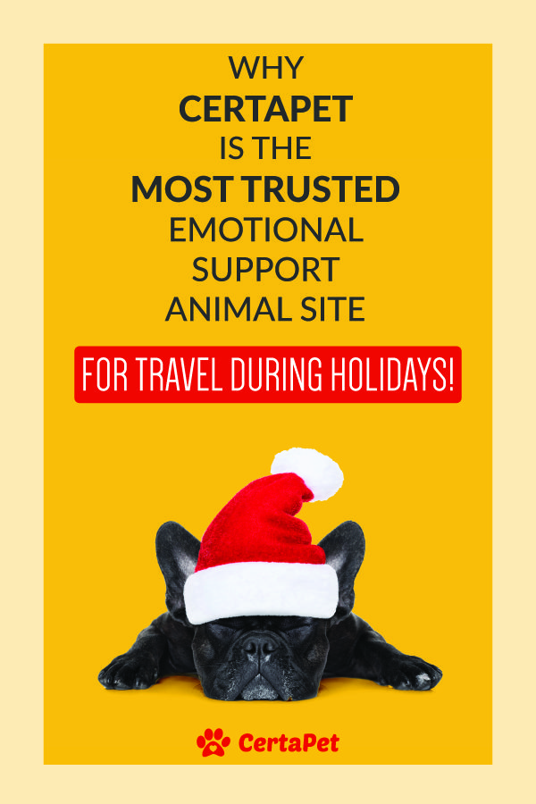 Your Pet Travels Free on Holidays! Emotional support