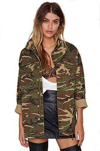 7aca33663afcd Beautiful SZIVYSHI New Vintage Military Style Camouflage Jacket Female Wild  Casual online. [$31.99] trendytopstyle from top store