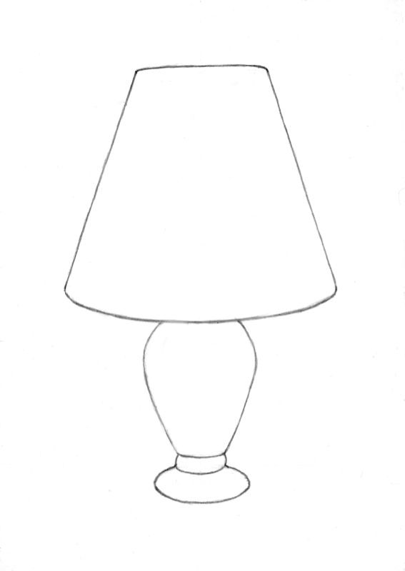 Amazing Drawing A Little Lamp From My Online Drawing Couse At: Http://drawpj