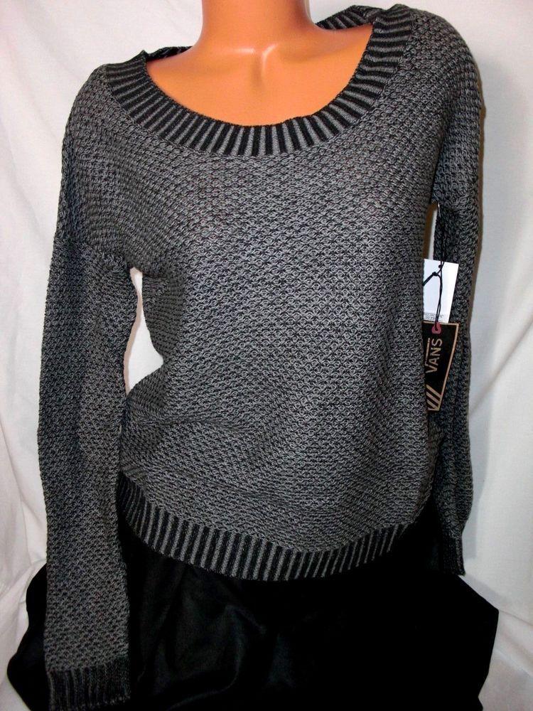 VANS Women's Bryne Sweater L Black/gray | See more best ideas ...