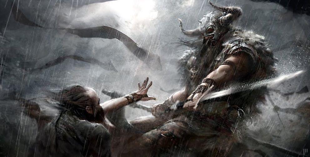 fantasy art if king cyrus fantasy art viking 2d