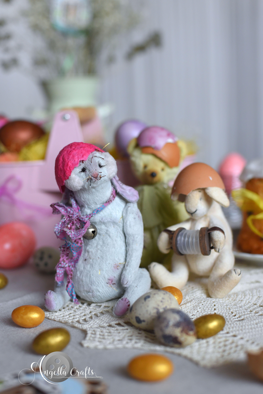 Stuffed bunny, Animal doll, Personalized bunny, Fantasy