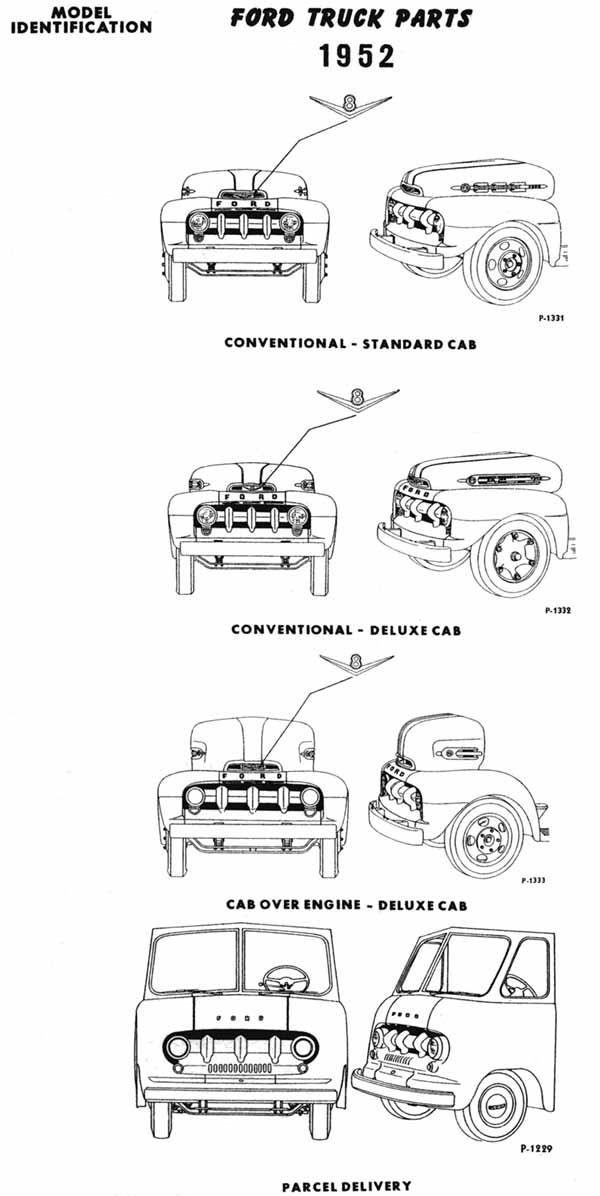 1952 ford trucks