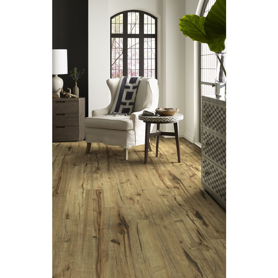Lowes Hickory Handscraped laminate flooring  House flooring