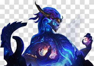 Aurelion Sol League Of Legends Overlay Blue Dragon Transparent Background Png C Overlays Transparent Background Transparent Background Japanese Dragon Drawing