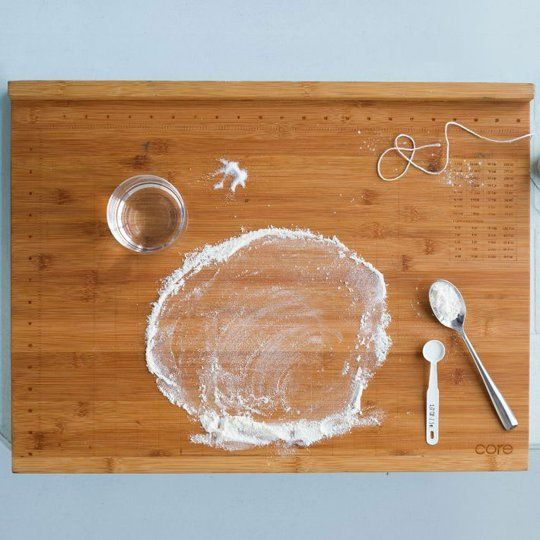 Core Bamboo Pro-Baker's Measuring Board from West Elm — Faith's Daily Find 01.03.13
