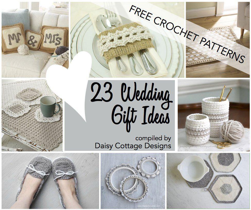 Wedding Crochet Patterns: 23 Free Crochet Patterns