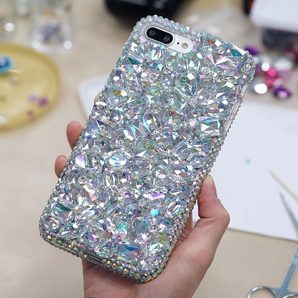 Aurora Borealis Crystals And Stones Design Style 858 Iphone Glitter Bling Wrap Skin For Xiaomi Mi Max Cases Custom Made Ab Case 7 Plus 8 Samsung Galaxy Note S7 Edge S8 All Other Phone Models Luxaddiction