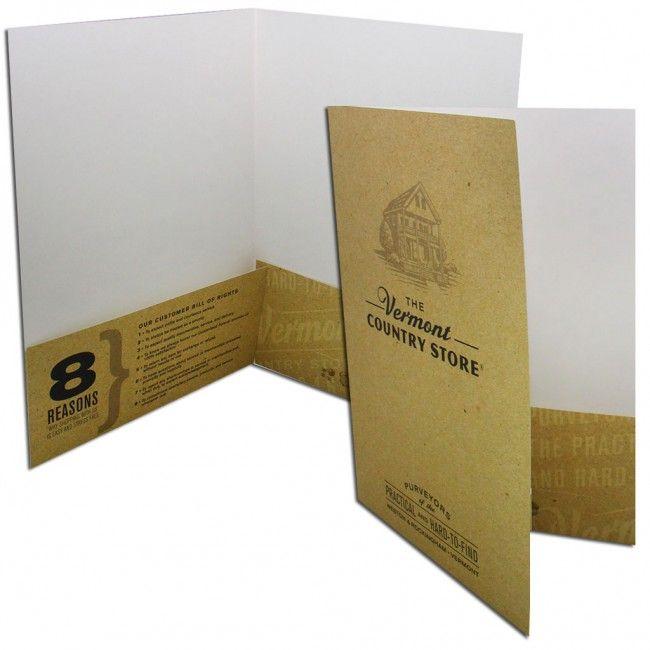 Custom Paper Pocket Folders Pocket \ Presentation Folder - resume presentation folder