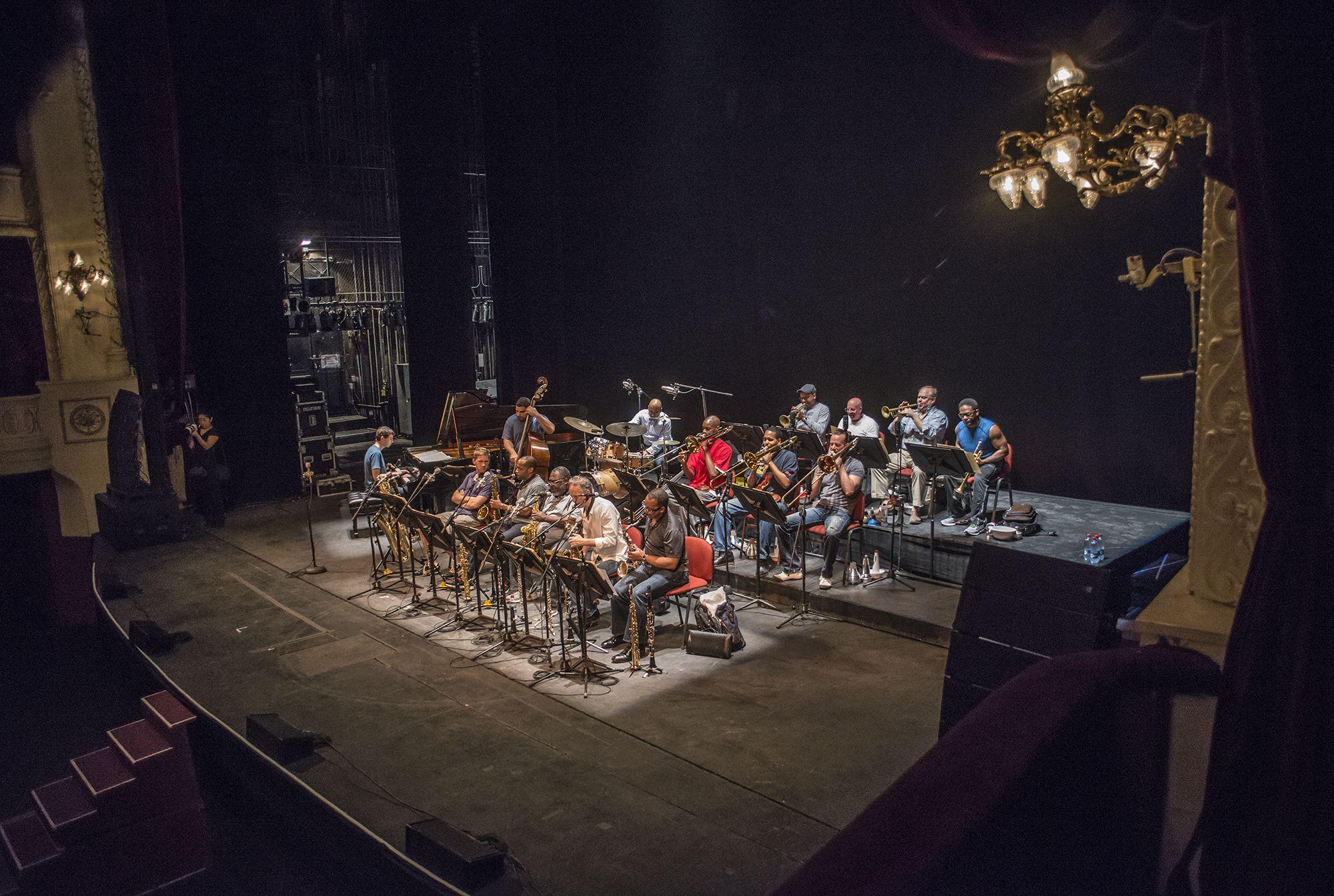Ensayo de Jazz at Lincoln Center Jazz Orchestra. Foto: Patricio Melo