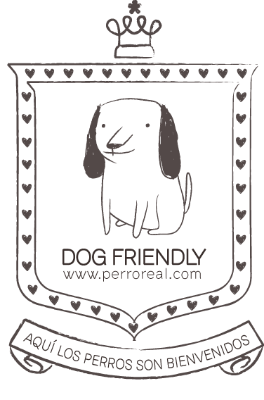 Perro Real promueve una vida Dog Friendly!  Dog Friendly es una marca registrada, con amor, para los perros!