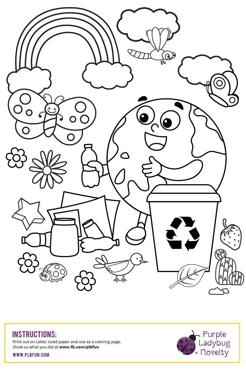 Free Printable Coloring Page It S Always A Great Day To Help Planet Earth Earth Day Coloring Pages Earth Day Projects Earth Day Activities