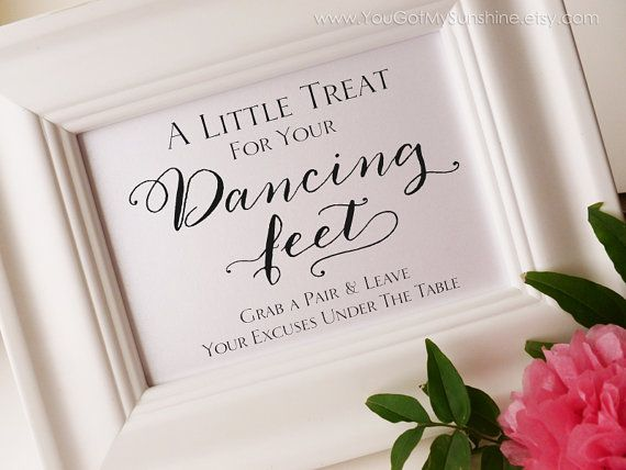 Dancing Shoes Wedding Sign Flip Flop Sign By Yougotmysunshine 3 99 Wedding Signs Dancing Shoes Wedding Wedding