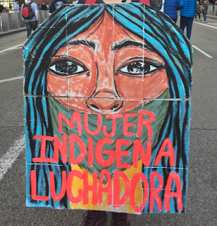 The Deeper Purposes of Art: Walking Murals  It is an undeniablefact that this past weekend's Women's March was a powerful and courag...