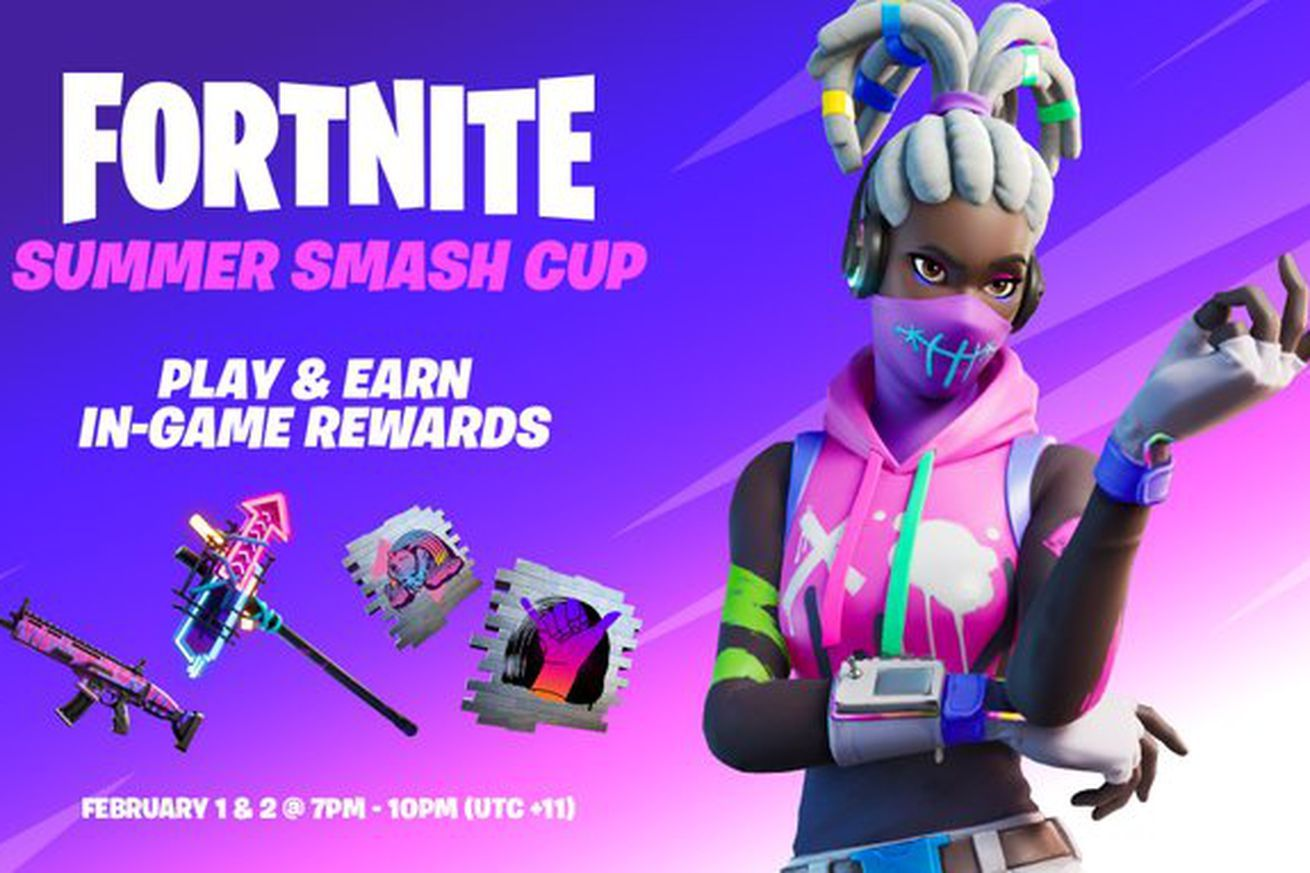Fortnite players can compete for the first tournament