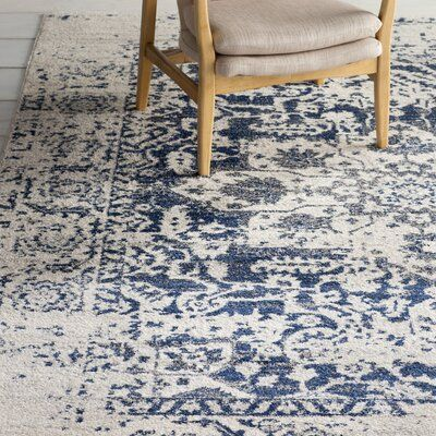 Mistana Katie Oriental Cream Navy Area Rug In 2020 Area Rugs Beige Area Rugs Blue Area Rugs