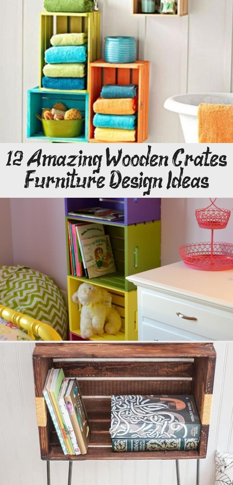 Photo of 12 erstaunliche Holzkisten Möbel Design-Ideen – Holzkisten können ein …