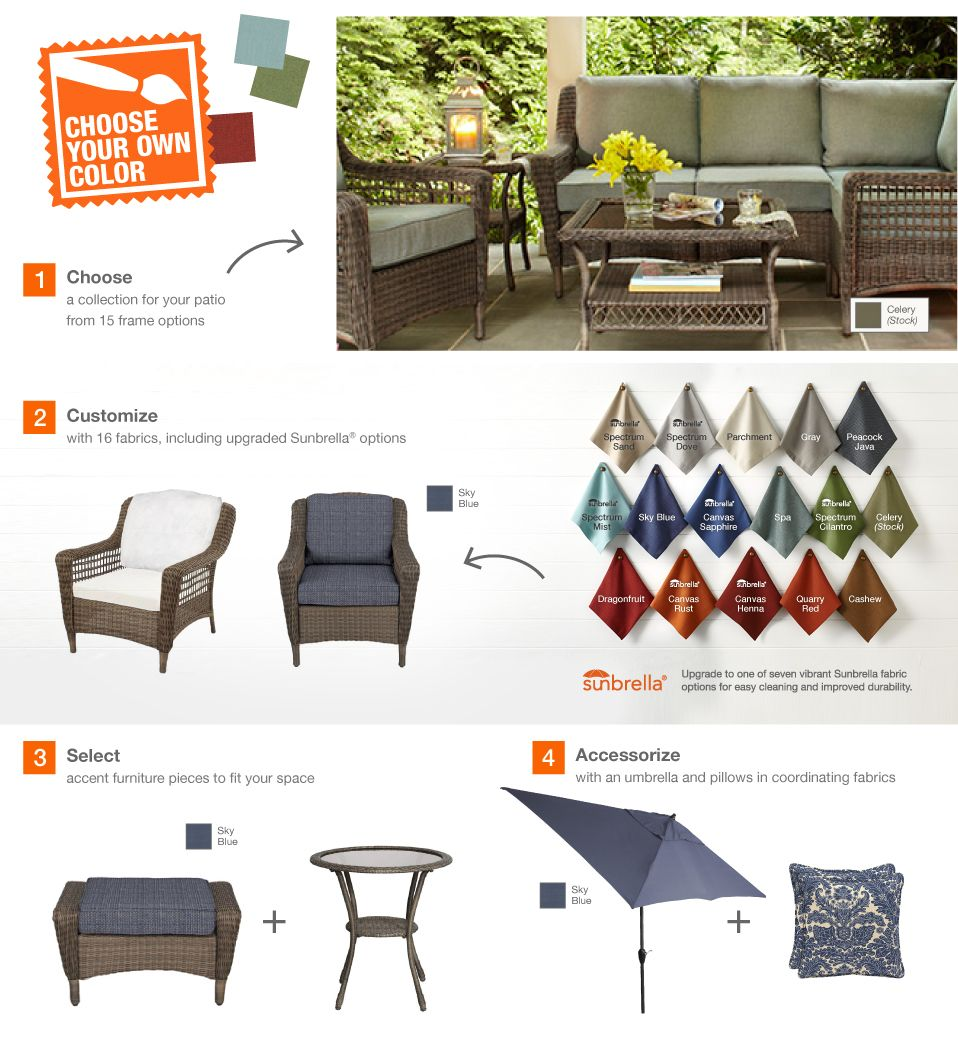 Pin By Susan Wodicka On Home Depot Wicker Patio Chairs