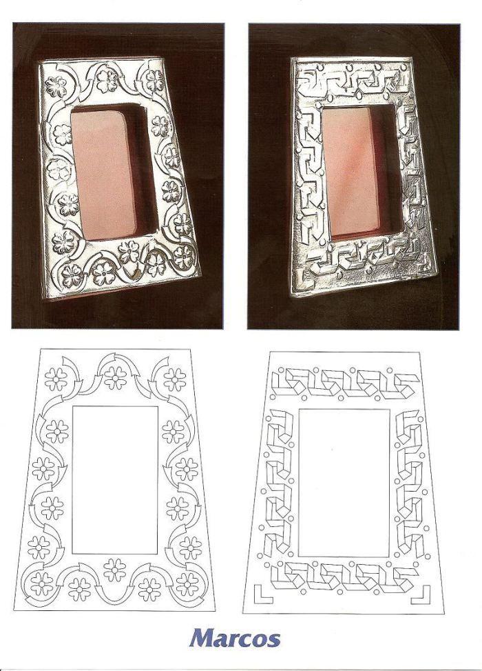 ARTE RUSO: Dibujos para repujar en estaño y plata | Pinterest ...