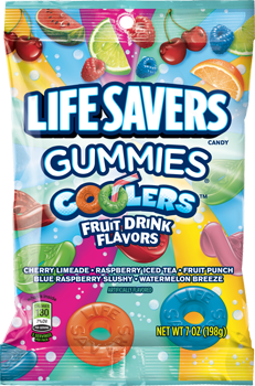 Life Savers Flavored Drinks Sour Candy Gummies