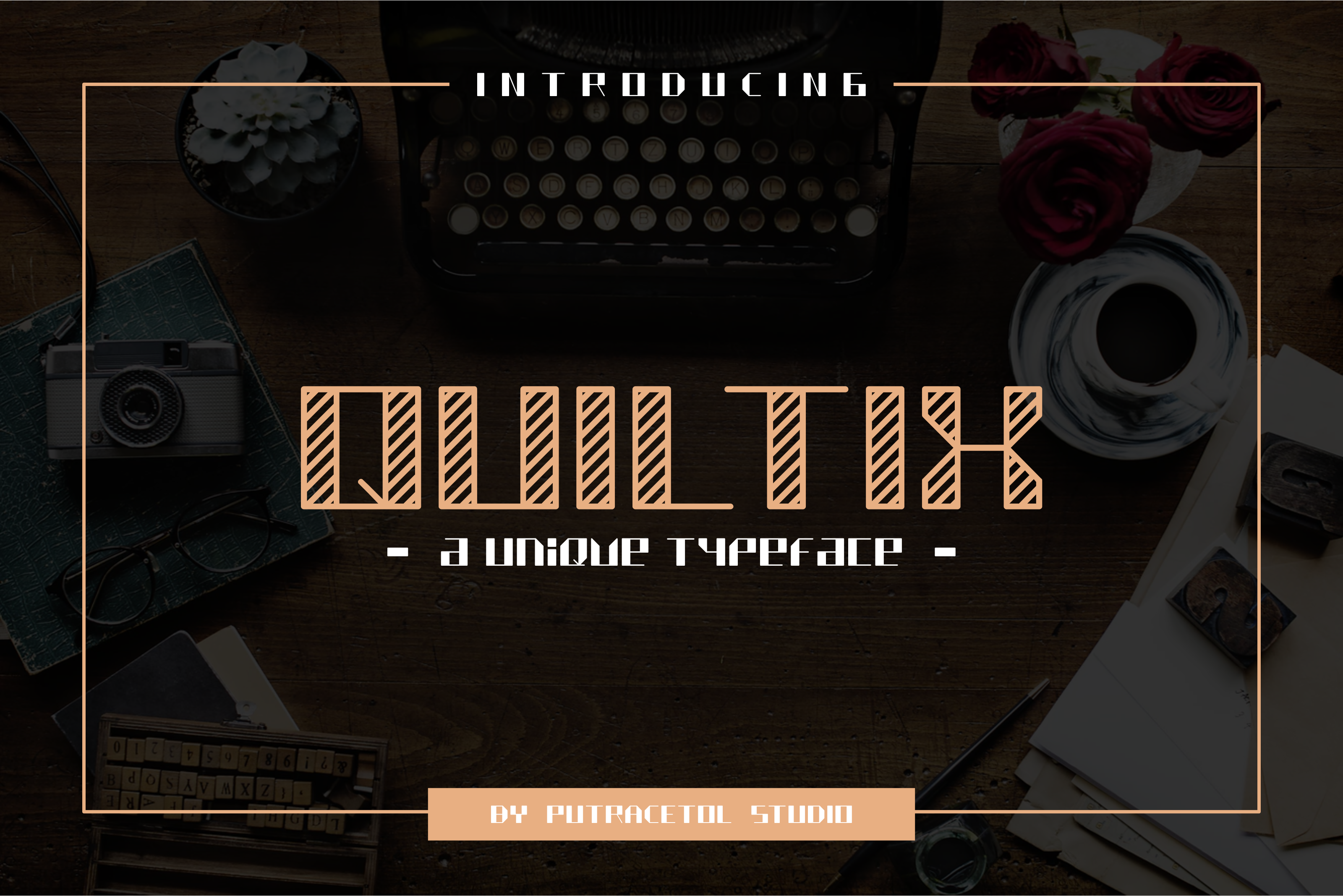 Quiltix (Font) by putracetol