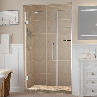Aston Belmore Gs 57 X 72 Hinged Frameless Shower Door Finish Oil Rubbed Bronze Shower Doors Bathtub Doors Framed Shower Door