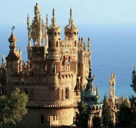 Colomares Castle, Malaga Spain