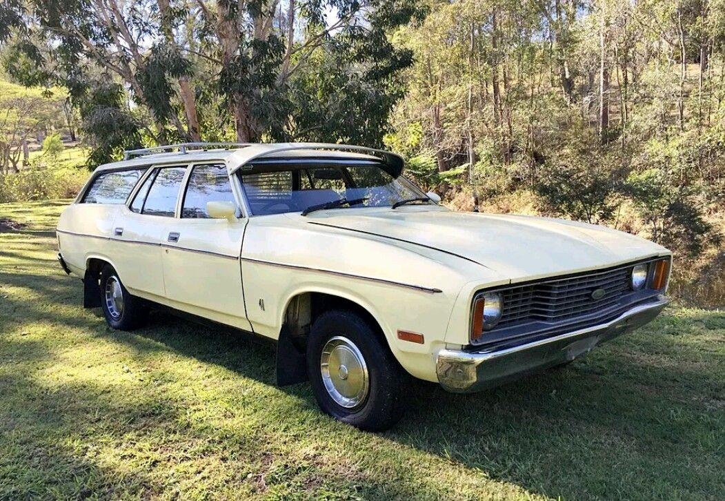 Australian 1977 Ford XC Falcon station wagon. Station