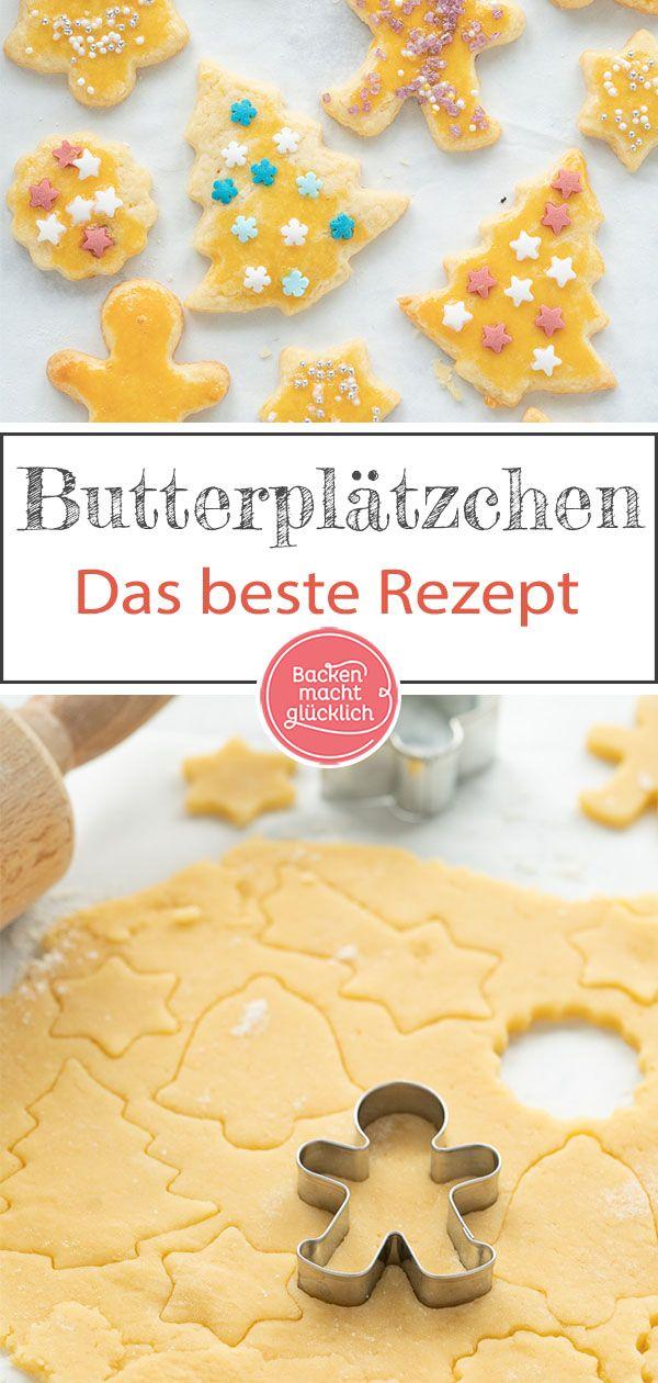 Mit Unserem Plätzchenteig Für Butterplätzchen Gelingt Der Klassiker Der Weihnachtsbäckerei Ganz Best Auf der Suche nach einem guten einfachen Weihnach...