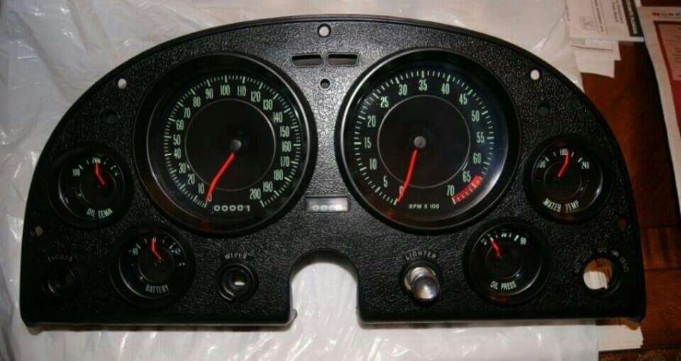 Grand sport conversion with 200 mph speedo and gas gauge