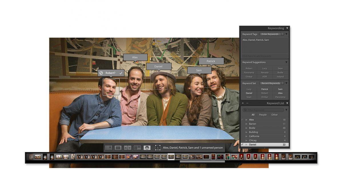 Adobe lightroom face recognition