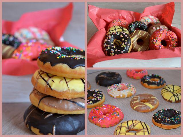 Julias zuckersüße Kuchenwelt Hausgemachte Donuts Cake