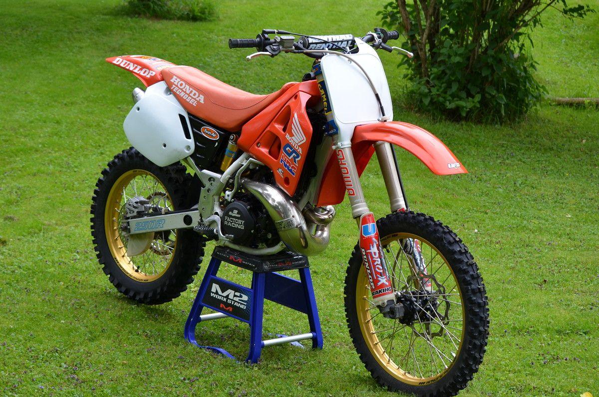 1990 Cr250r Restored Old School Moto Motocross Forums