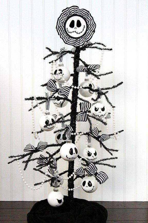 Diy Nightmare Before Christmas Tree Nightmare Before