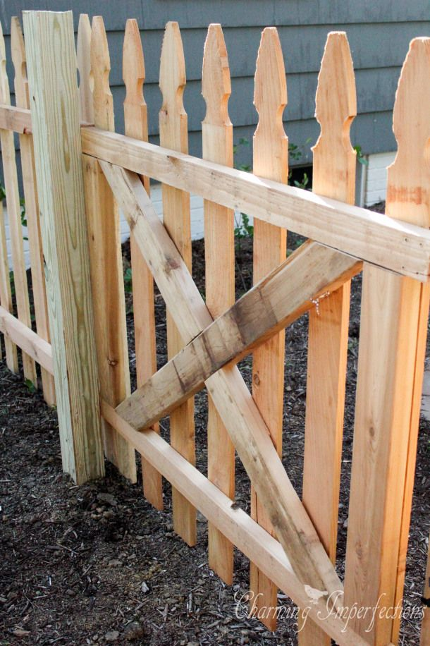How To Build And Install A Gate Building A Deck