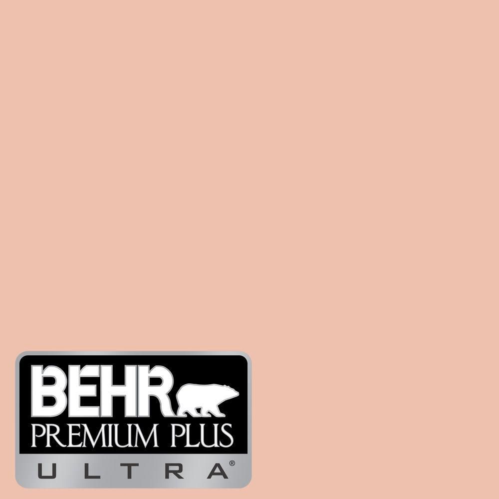 Behr Ultra 5 Gal M180 3 Flamingo Feather Flat Exterior Paint And Primer In One 485405 The Home Depot Pink Paint Colors Behr Premium Plus Ultra Gold Paint Colors