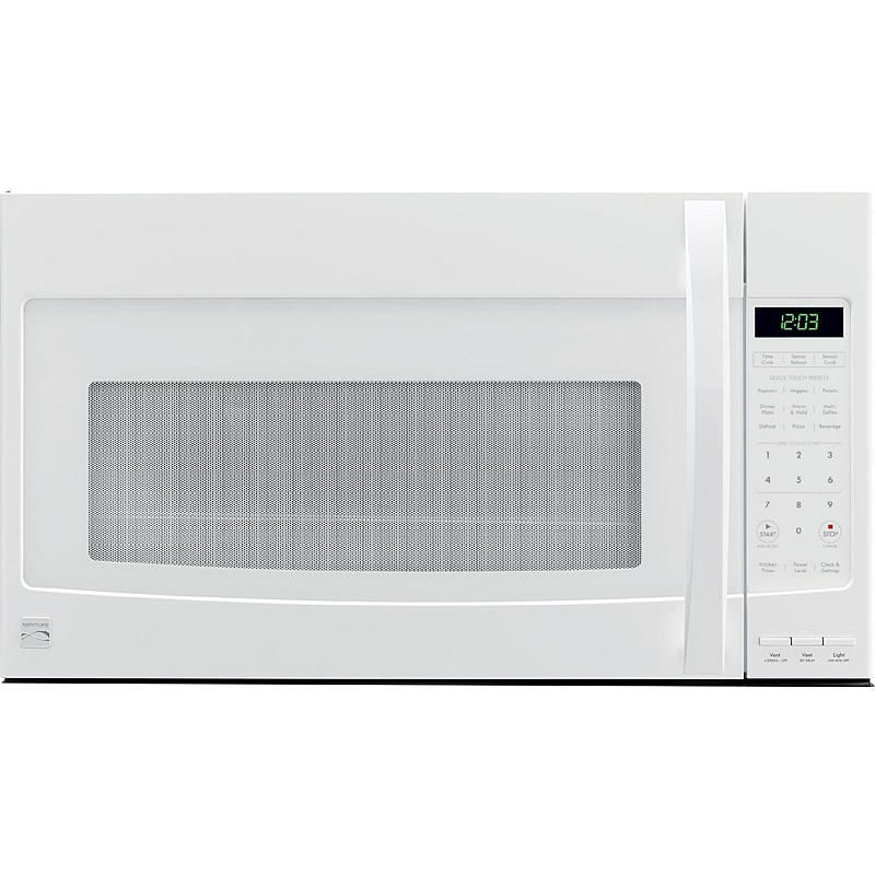 Kenmore 80352 2 1 Cu Ft Over The Range Microwave