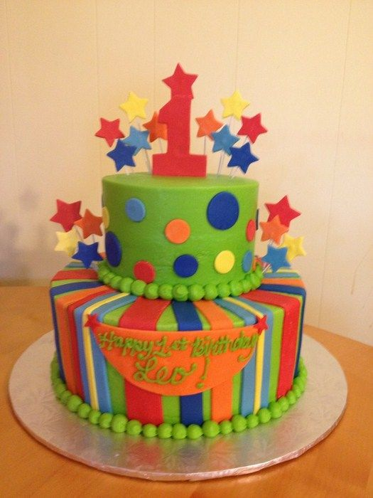 Birthday Cake Ideas For Boy 1 Year Old