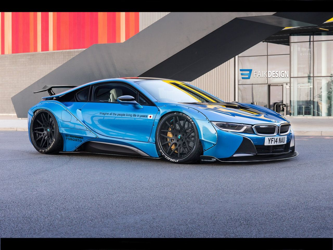 Bmw I8 Libertywalk By Faik05 More Digital Custom Here Toys For
