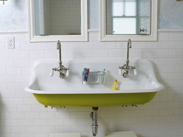 Enamel Industrial Sink Google Search With Images Trough Sink