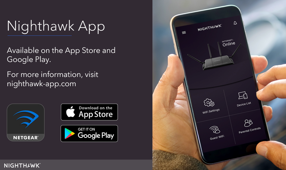 Checkout the steps to Install Nighthawk App. Netgear