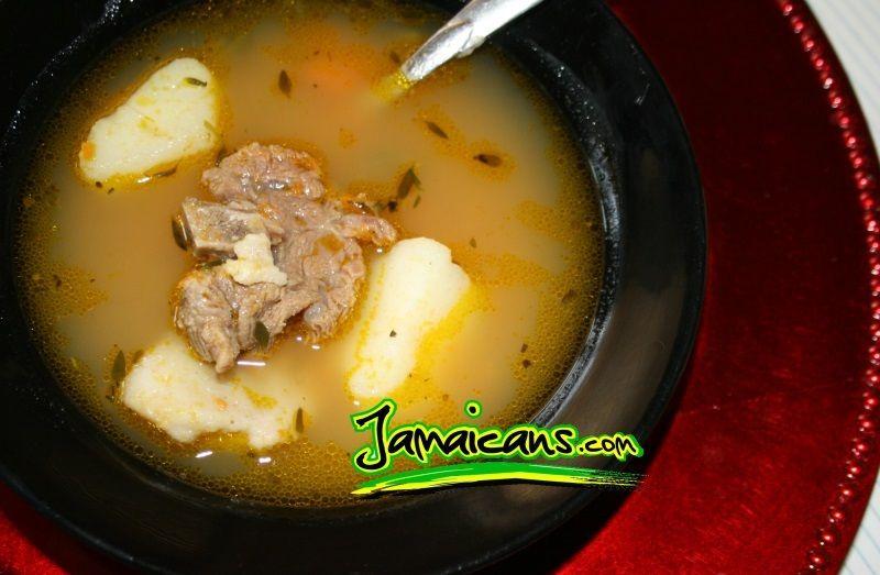 jamaican beef soup recipe  beef soup recipes jamaican