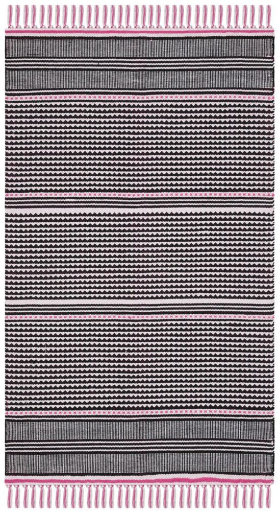 Montauk Jakov Pink Multi 3 Ft X 5 Ft Area Rug Area Rugs Rugs Home Depot