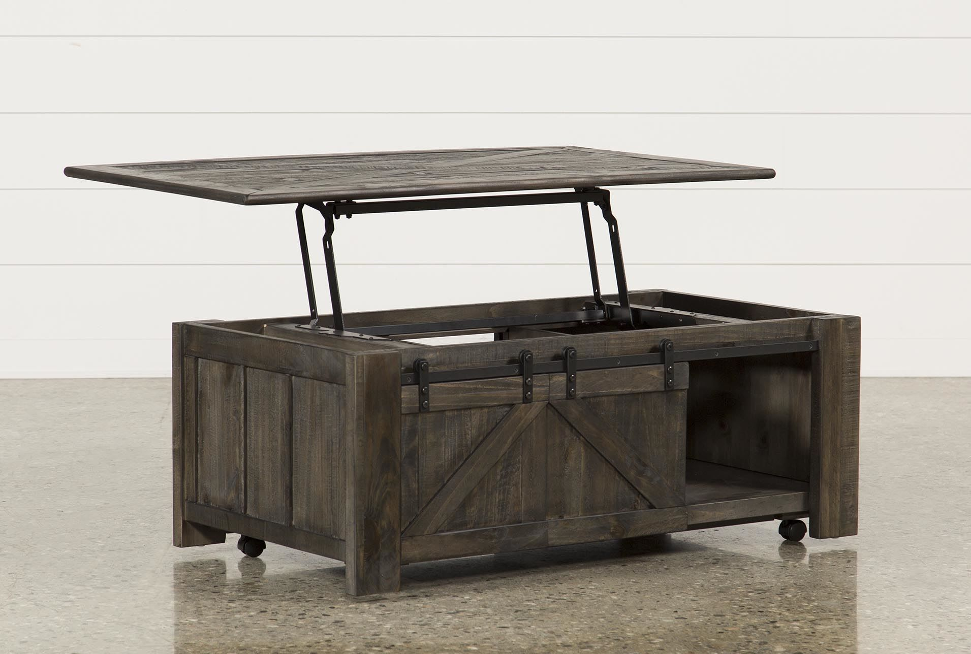 Grant Lift Top Coffee Table W Casters Lift Top Coffee Table Storage Ottoman Coffee Table Door Coffee Tables