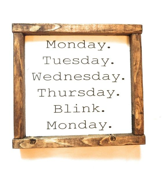 Funny Weekend Sign Office Sign Office Decor Sign Desk Sign Humorous Sign Weekend Blink Sign #3dayweekendhumor